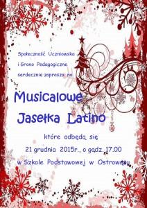 Plakat Jasełka Ostrowąż12